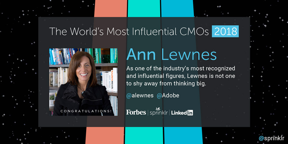 Forbes Top 50 CMO Report